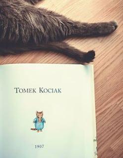 książka zdzieciństwa tomek kociak